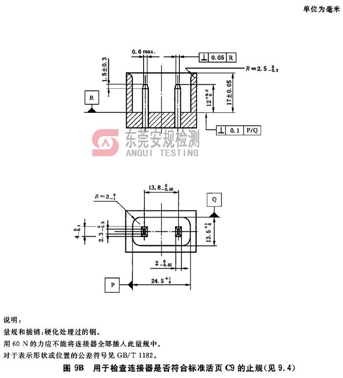 IEC60320耦合器量规C9止规